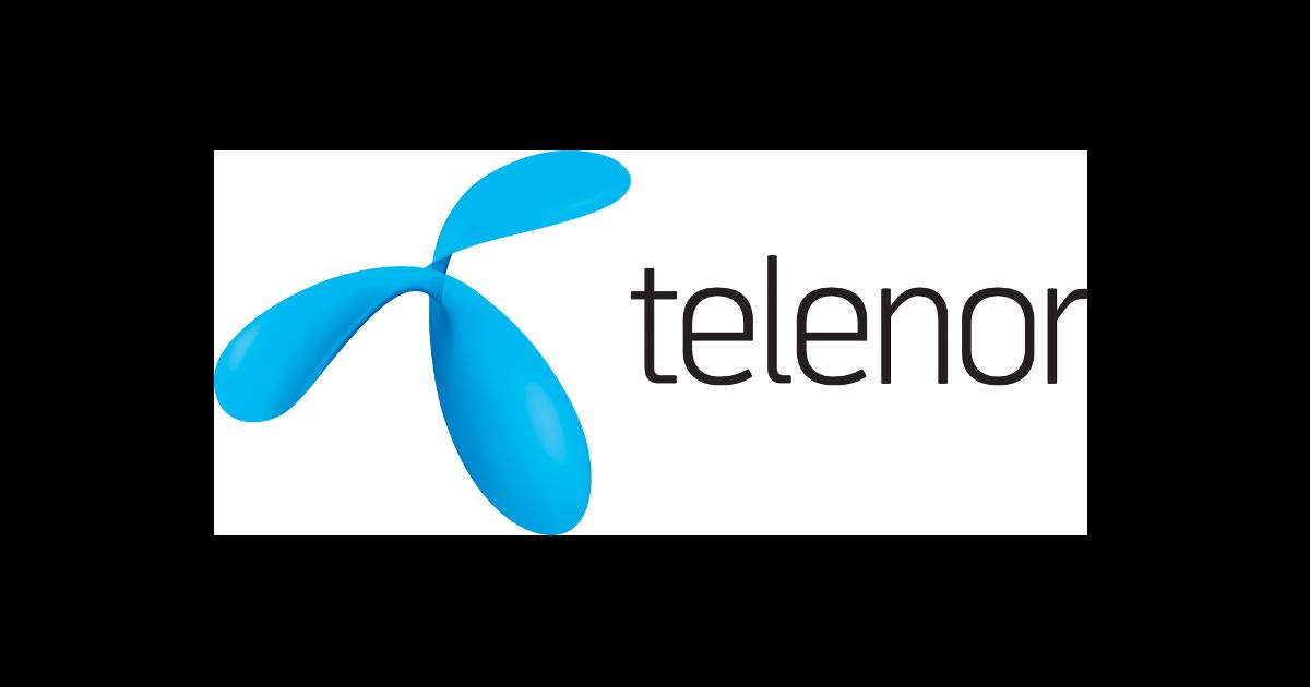 Logotyp för Telenor