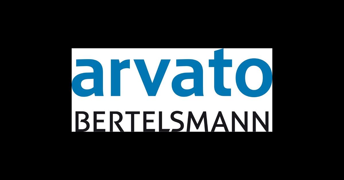 Logotyp för Arvato